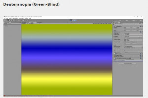 Simulating Color Blindness in Unity