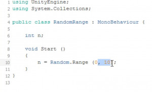 Using Random.Range