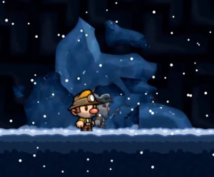 Shaders Case Study - Spelunky Ice Cave Cystrals